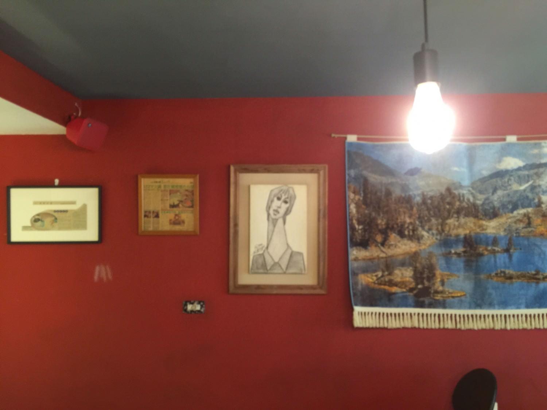 牆壁上的畫作