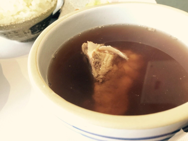 蓮藕魷魚綠豆排骨湯