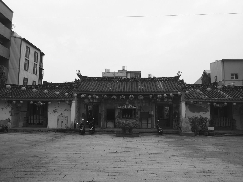 台南豆花的起源地: 三山國王廟