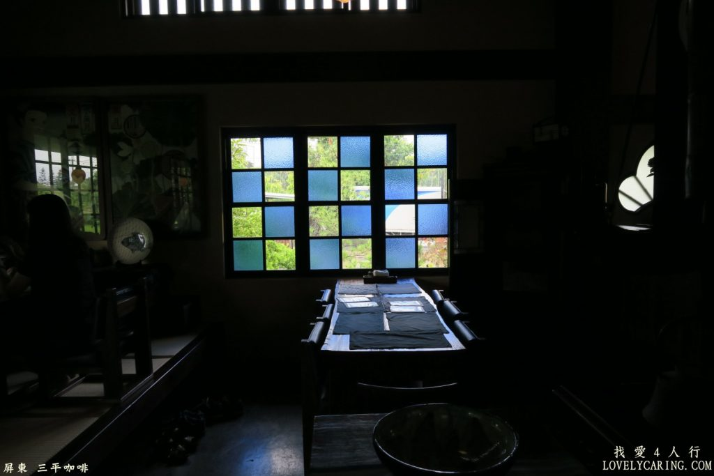 馬賽克風格的玻璃