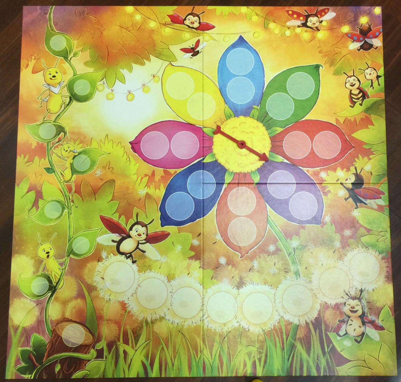 瓢蟲彩妝宴的可愛遊戲圖版