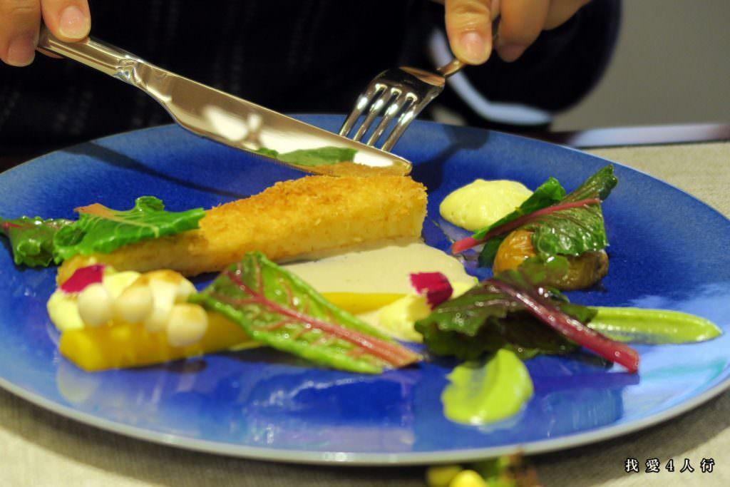 艾瑪點的主餐鰈魚
