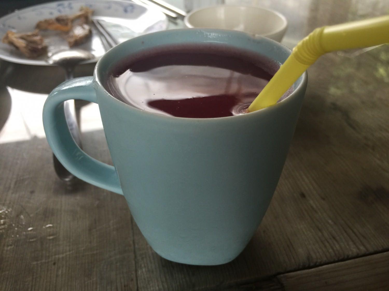 山葡萄汁,季節限定