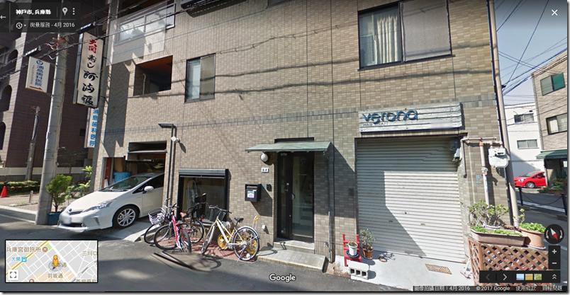 Yume さん 的家在 Google Map 上面的街景圖