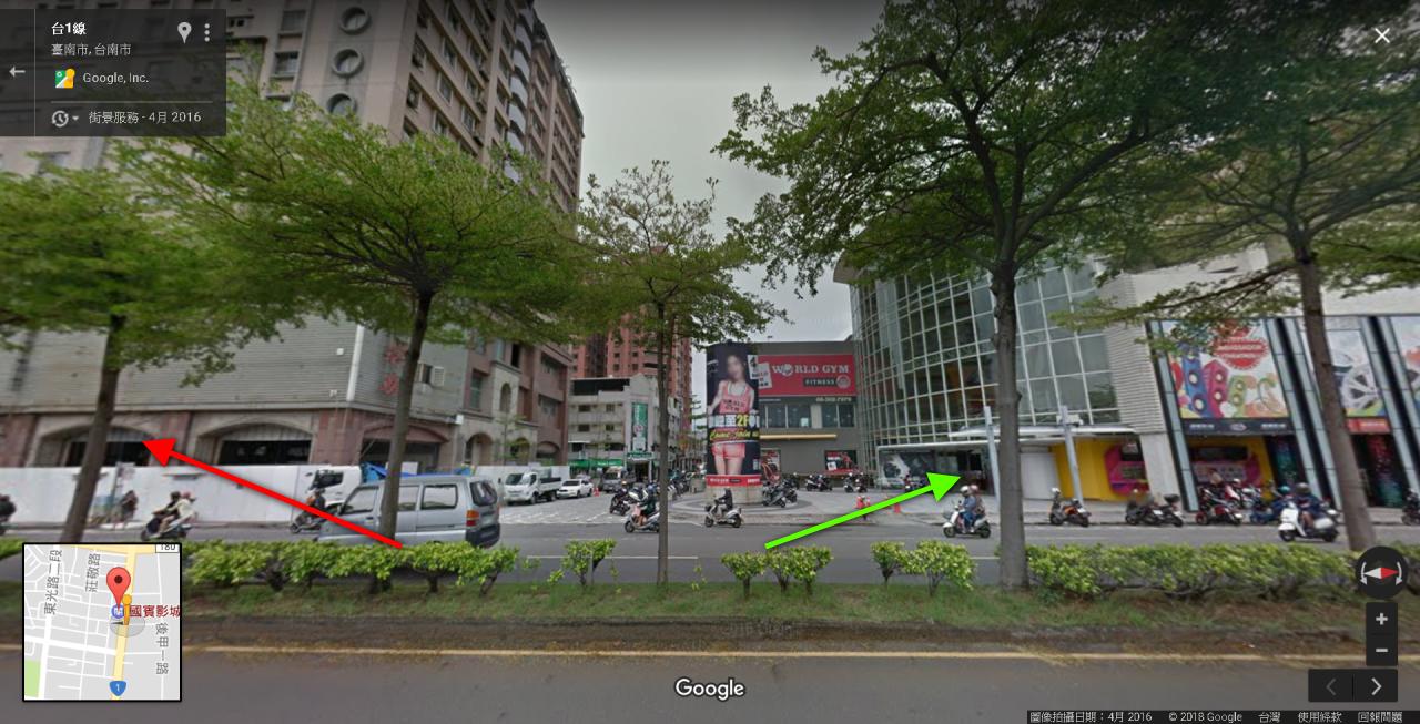 取材自 Google Map