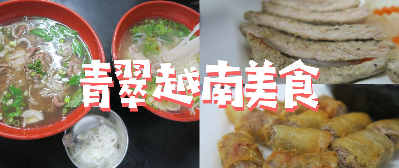 【愛吃府城】青翠越南河粉,值得天天吃的道地越南美味